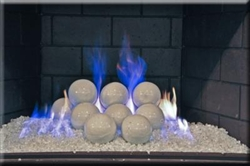 Our Small White Fireballs Are Ideal For Contemporary